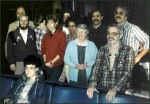 1986 delegation at the airport before leaving for Nicaragua